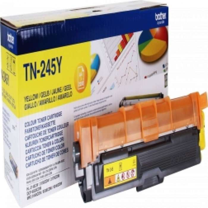 TN245Y Brother טונר תואם צהוב