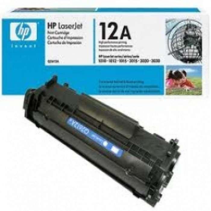 טונר שחור HP 12A Q2612A מקורי