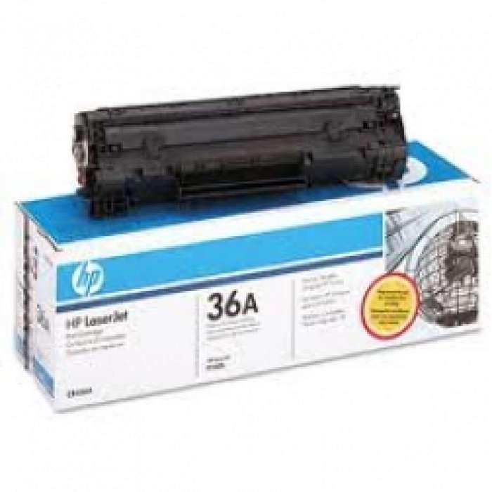טונר שחור HP 36A CB436A מקורי