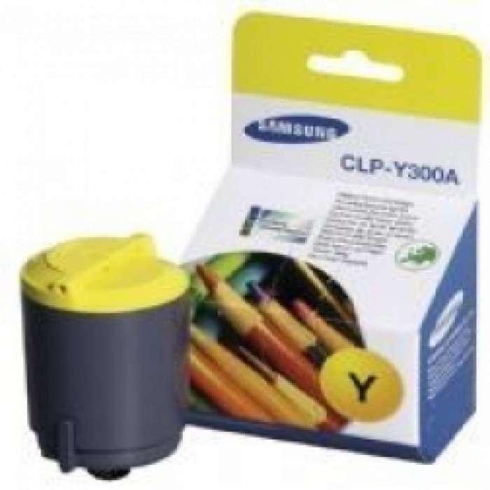 טונר Samsung CLP Y300A סמסונג צהוב מקורי