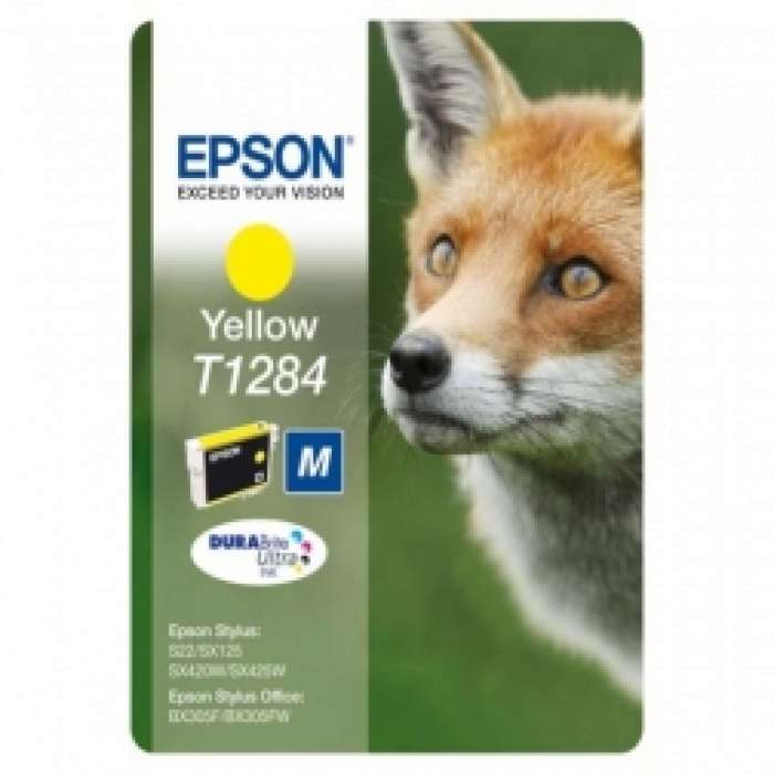 T1284 Epson צהוב מקורי