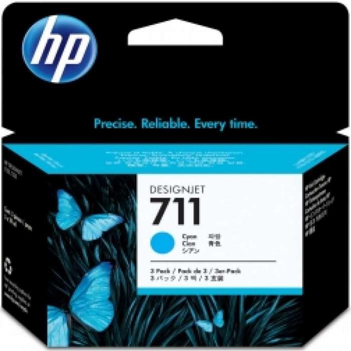 ראש דיו כחול HP 711, 29 ML