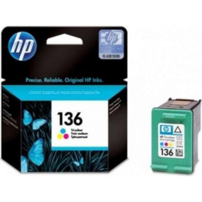 ראש דיו צבעוני HP 136 C9361HE