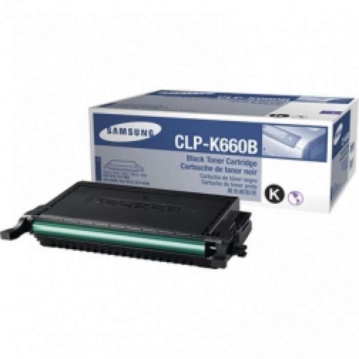 טונר שחור Samsung CLPK660B סמסונג תואם
