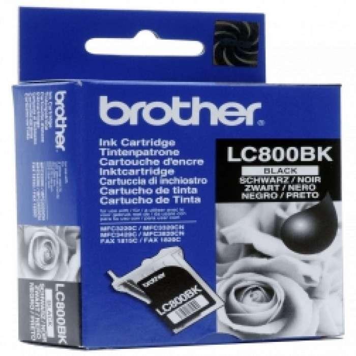 ראש דיו שחור  Brother LC800BK מקורי