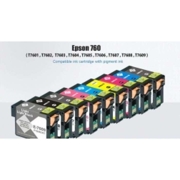סט ראשי דיו צבעוניים מקורי למדפסות מחברת EPSON