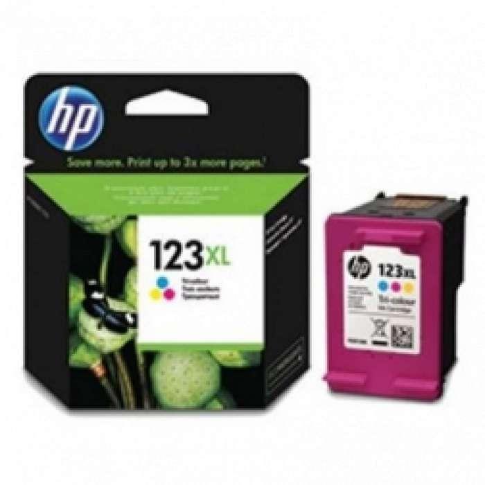 ראש דיו צבעוני HP 123XL F6V18AE