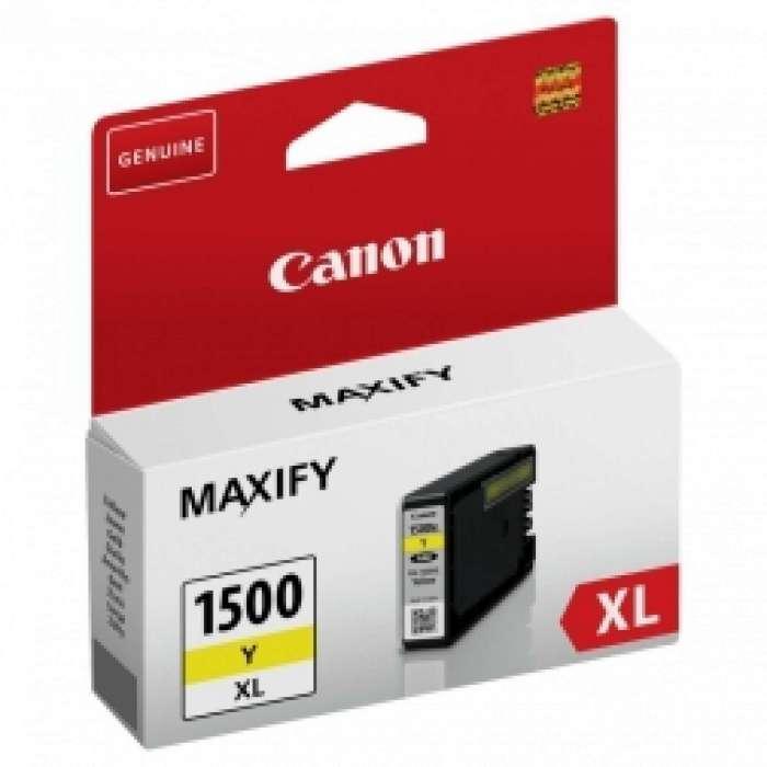 ראש דיו צהוב Canon PGI-1500XL Y קנון