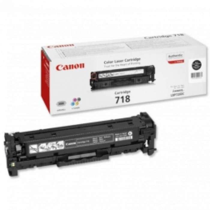 טונר Canon 718 בצבע אדום מקורי