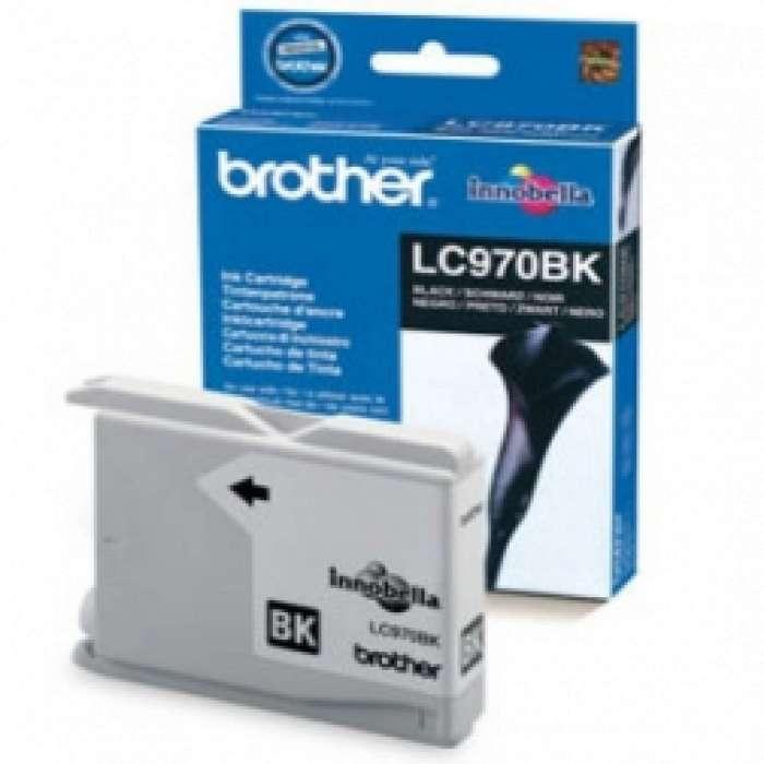 ראש דיו שחור Brother LC970BK תואם