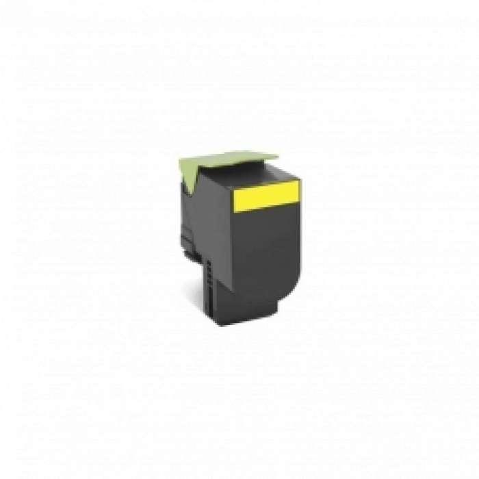 מחסנית טונר Lexmark 808SY בצבע צהוב