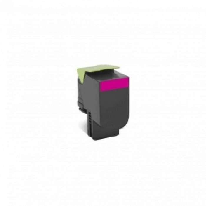 מחסנית טונר Lexmark 808SM בצבע אדום
