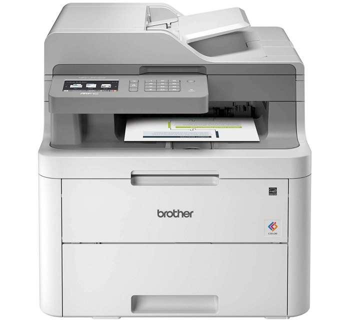 מדפסת משולבת לייזר צבעונית BROTHER MFC-L3710CW