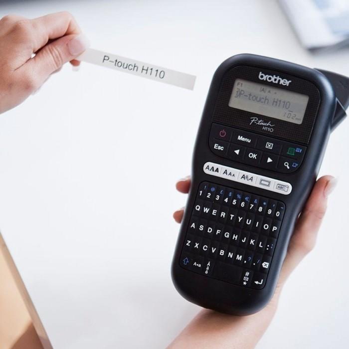 מדפסת מדבקות ניידת PT-H110 Brother