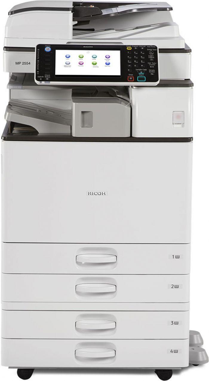 מכונת צילום משולבת שחור לבן Ricoh Aficio MP3054