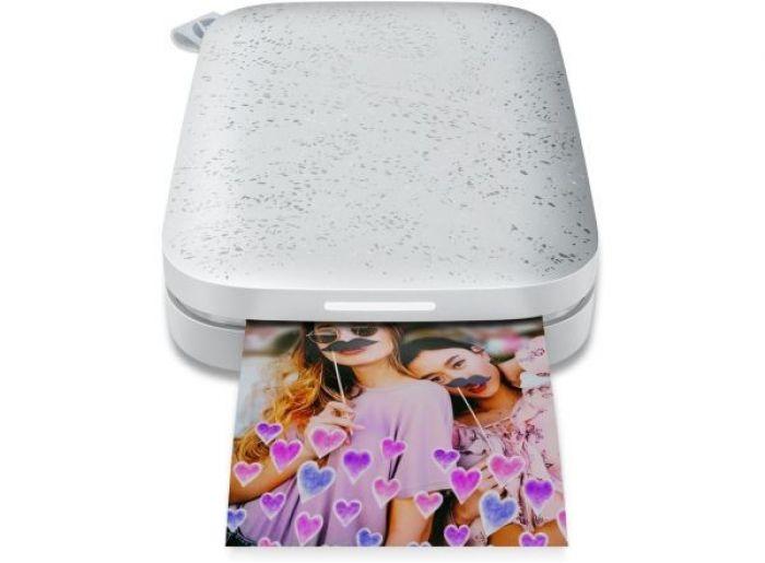 מדפסת כיס ניידת HP Sprocket 200 1AS86A Bluetooth לבן