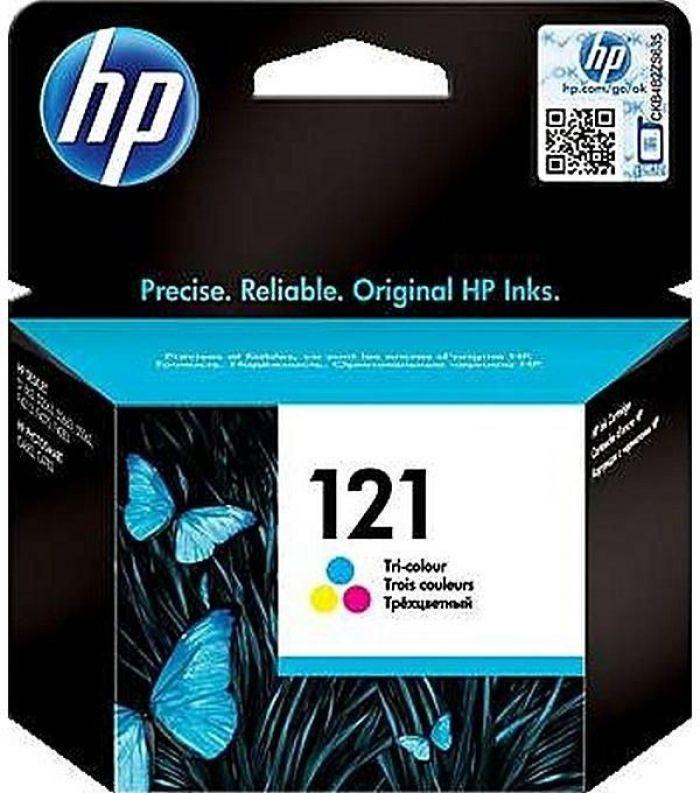 ראש דיו מקורי צבעוני HP 121