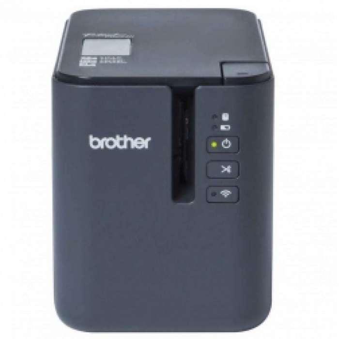 Brother מדפסת מדבקות אלחוטית מקצועית PT-P900W BROTHER