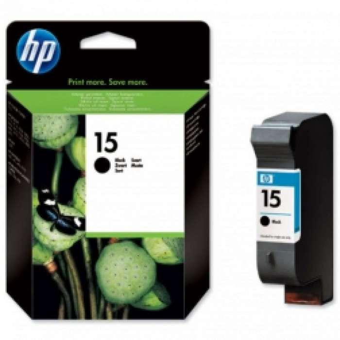 ראש דיו שחור HP 15 C6615DE