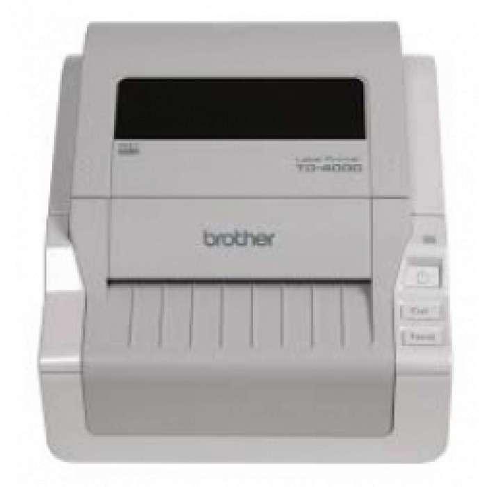מדפסת מדבקות ברדר TD-4000  עם חיתוך אוטומטי