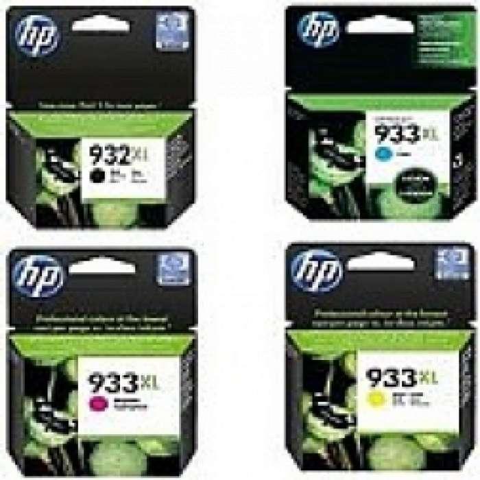 סט XL933 ו932 HP  צבעוני ושחור מקורי