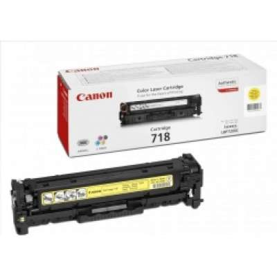 טונר צהוב CRG718Y Cartridge 718 Yellow Toner