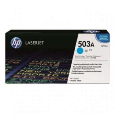 HP 503A, Cyan Original Toner Cartridge