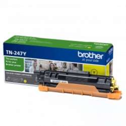 טונר צהוב מקורי BROTHER TN 247Y