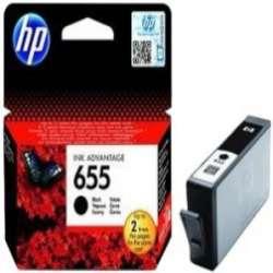 ראש דיו שחור HP 655 CZ109AE