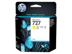 ראש דיו צהוב HP 727 130-ml