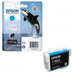 דיו ציאן מקורי EPSON T7602