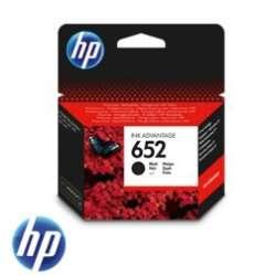 ראש דיו שחור HP 652 F6V25AE