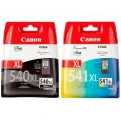 סט ראשי דיו שחור וצבעוני Canon וPG541 XL  PG540XL קנון מקורי