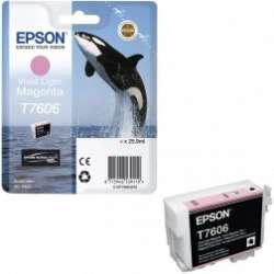 דיו מג'נטה חי בהיר מקורי EPSON T7606